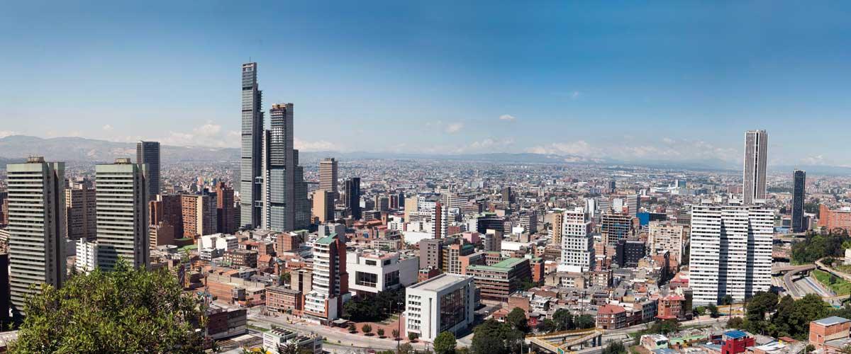 Visit Bogota with executive rent a car