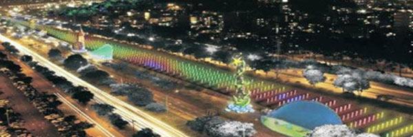 Río Medellín, todo un paisaje para que residentes y visitantes disfruten esta navidad